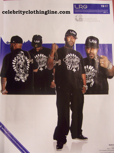 bun b LRG clothing magazine