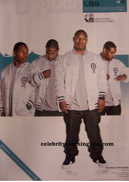 maurice jones drew LRG clothing