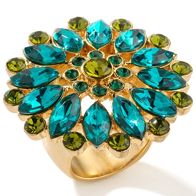 janice-dickinson-marquise-and-round-stone-flower-ring
