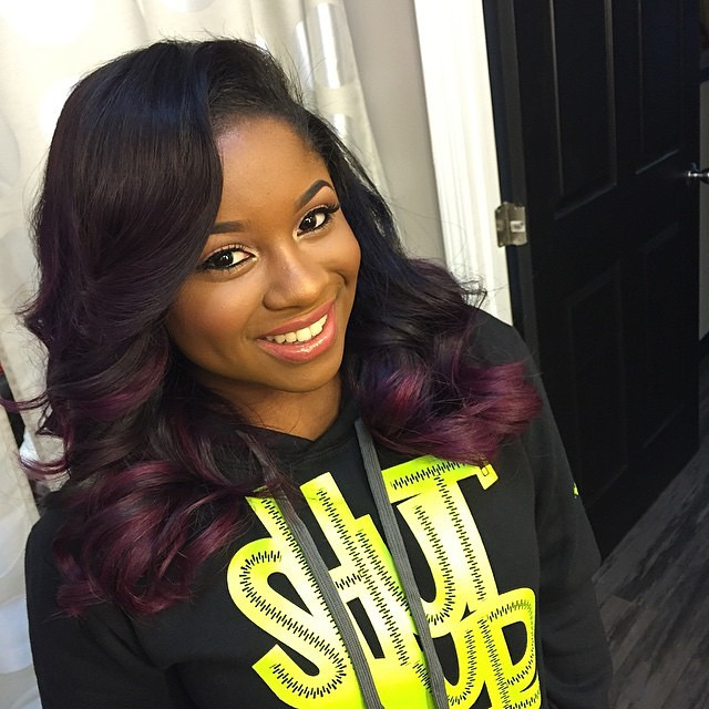 Reginae Carter Partners With Served Fresh For Her Shutup