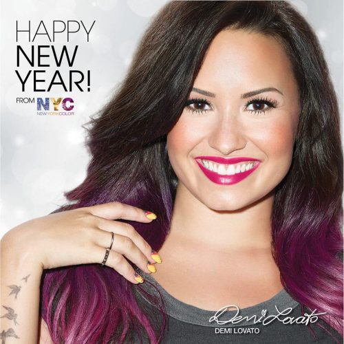 Demi Lovato New York Color