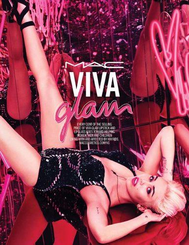 Miley Cyrus Viva Glam