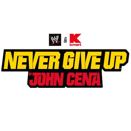 John Cena | W.W.E and W.W.F  |John Cena Logo Never Give Up 2014