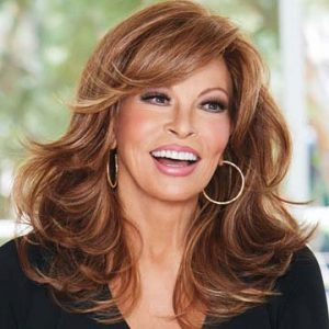 IF YOU DARE Wig by RAQUEL WELCH, Iced Lavender~Lace Front, Mono Part Full  Wig