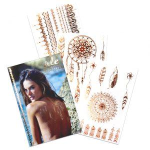 Alessandra-Ambrosio-s-golden-temporary-tattoos-3