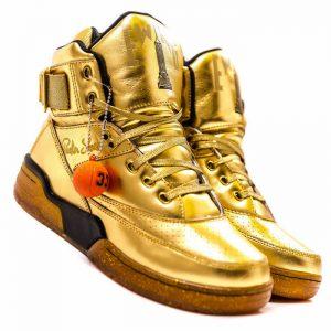 timeless design 20b54 9a0f8 Ewing Athletics Aloysius Gold by Teyana Taylor. teyana-taylor-packer-shoes